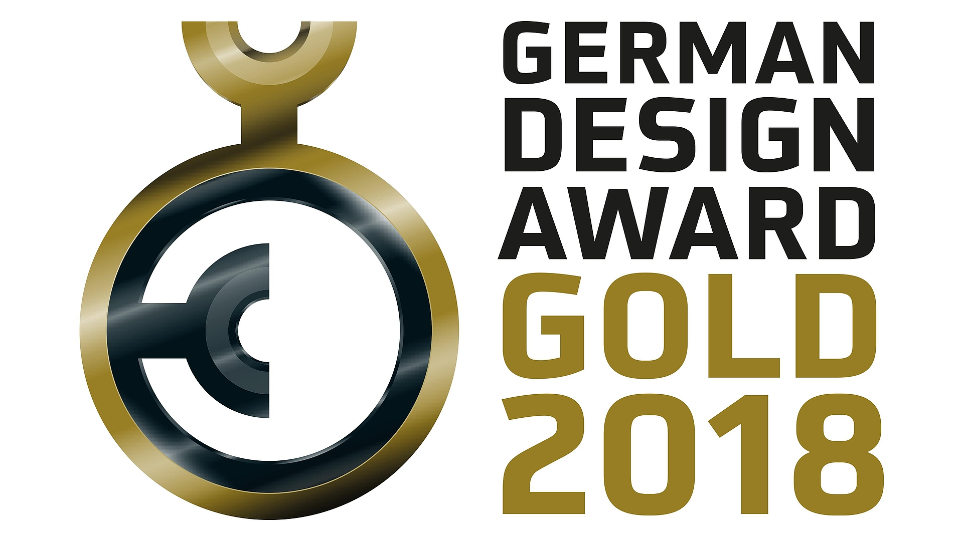 German Design Award Gold 2018