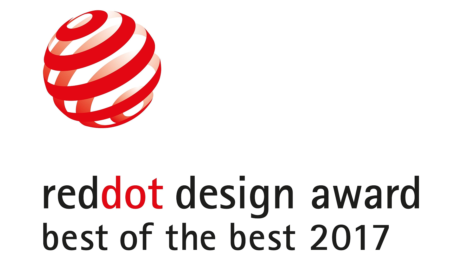 reddot design award best of the best 2017