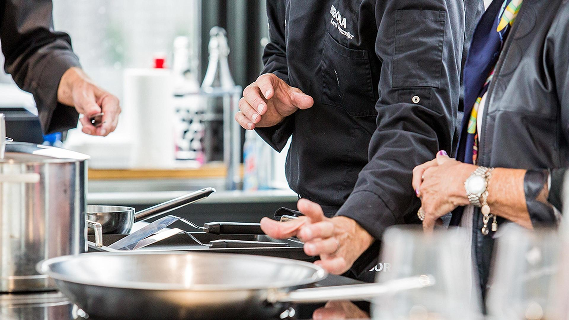 BORA COOKING DEMONSTRATION, SYDNEY Wednesday 10th February