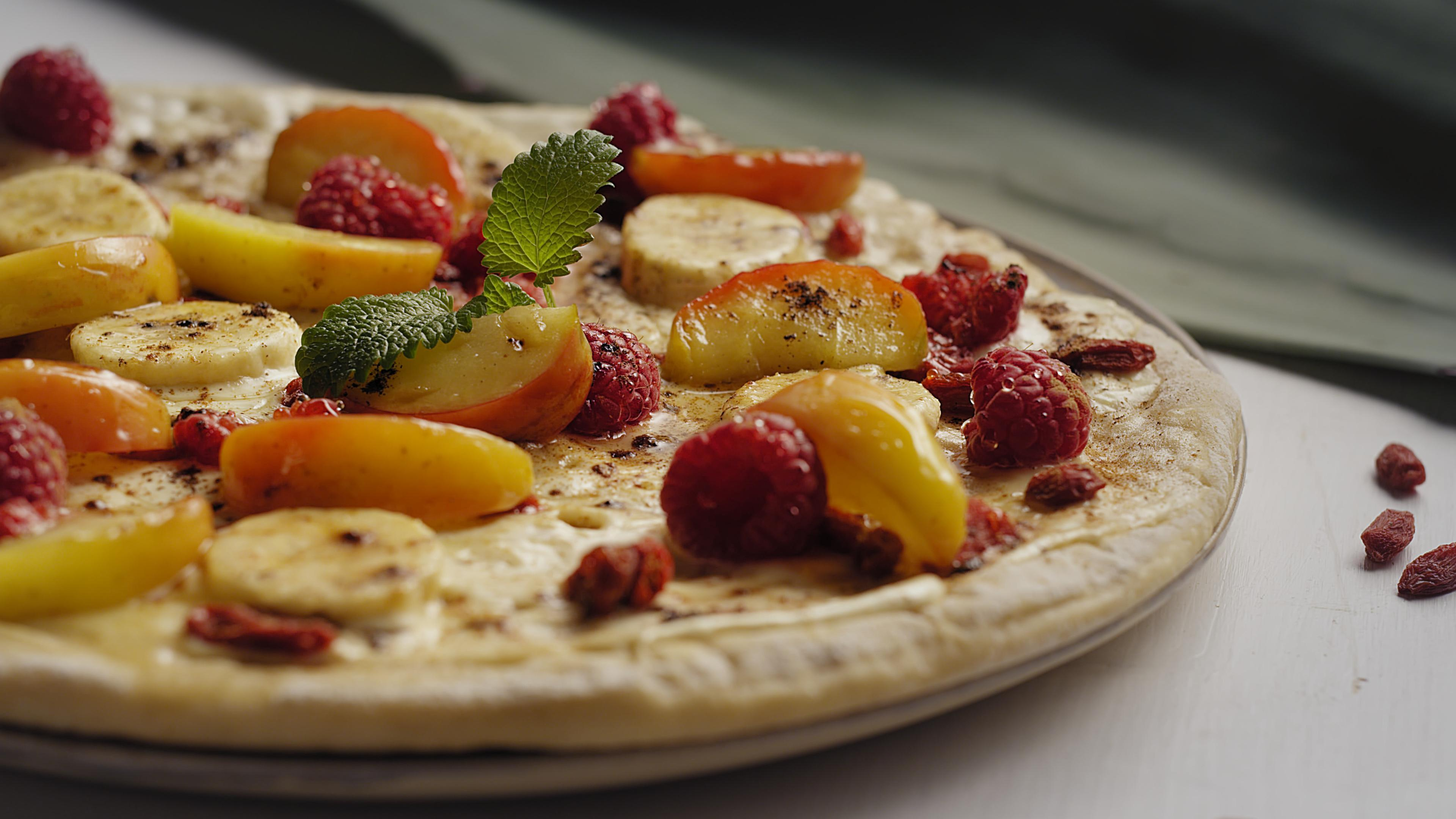 #3 Pizza aux fruits