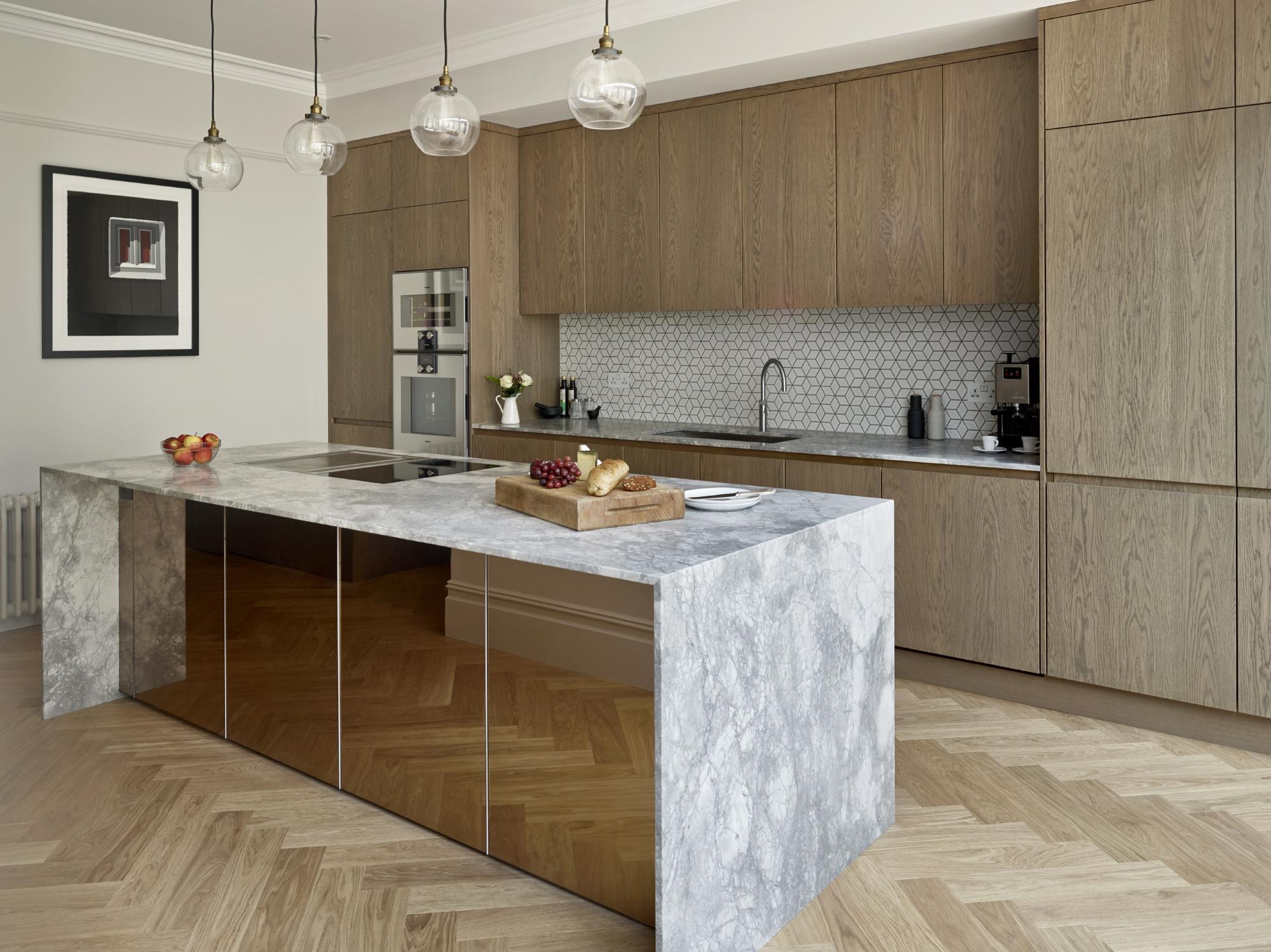 Designer Kitchen In A Victorian House Bora
