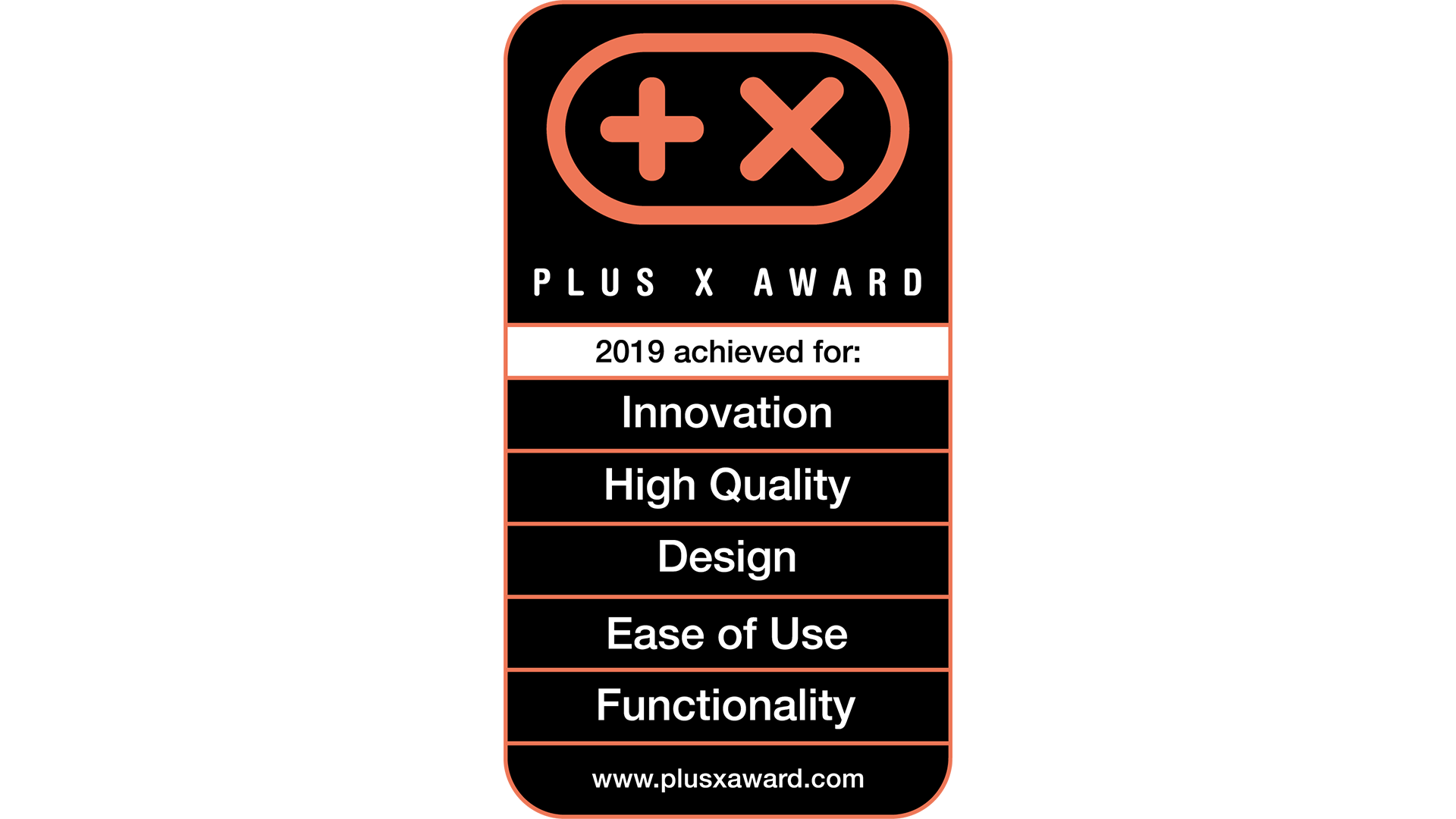 Logo - Plus X Award